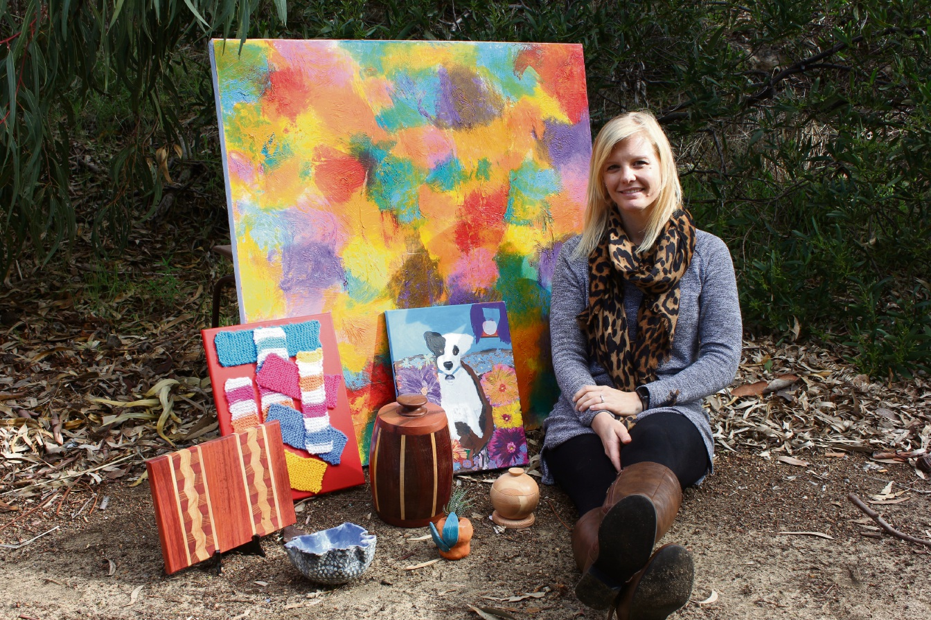 Program manager Skye Stevens is gearing up for the Family Fun Day at Creative Arts by Rise.