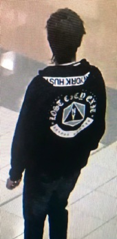 Police want to speak to this man in connection with the theft of gold chains from a store in Midland last month.