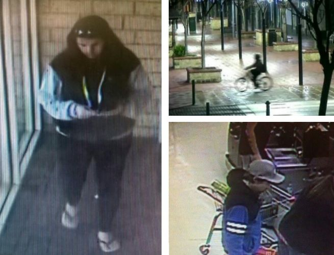 Mandurah police would like to speak to these people in relation to a variety of incidents.