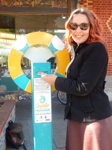 Fremantle councillor Rachel Pemberton is urging locals to dig deep during Homelessness Week