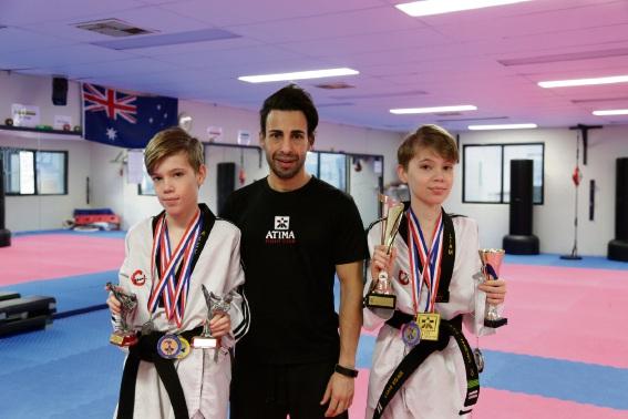 Taekwondo: Young Dianella fighter eyes national title