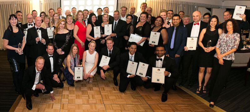 Finalists and winners in the Joondalup Business Association awards.