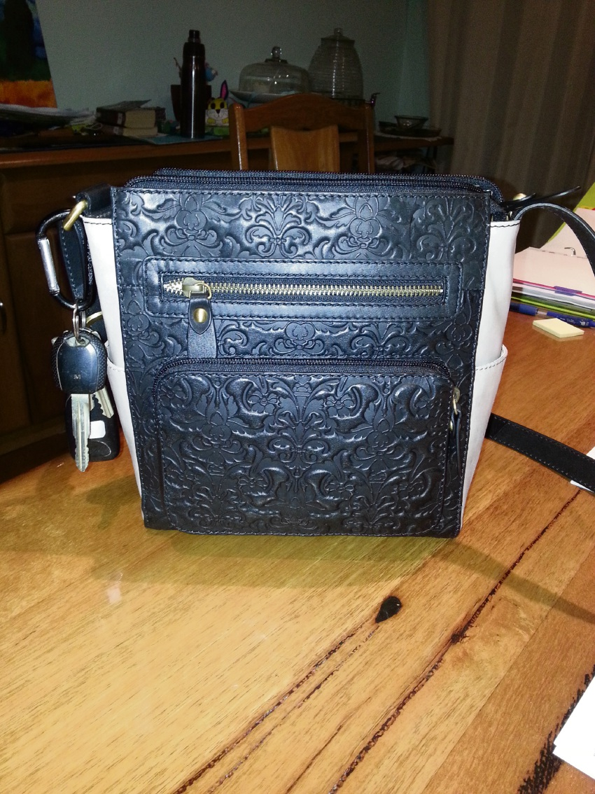 The handbag belonging to Anna Slattery which was stolen.