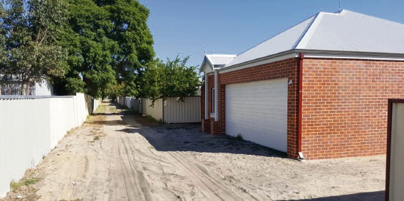 Who's in the right? The SAT has ruled in favour of a compromise for Bassendean resident Balraj Hansra regarding a council requirement that he build a right-of-way on his property.