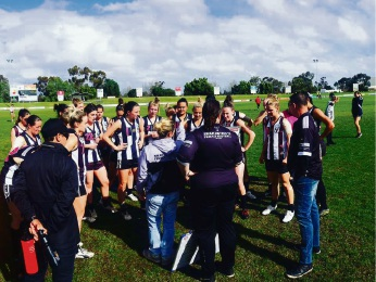 Clean up: Three Swan Districts women's teams are hoping to dominate in the premiership competitions.