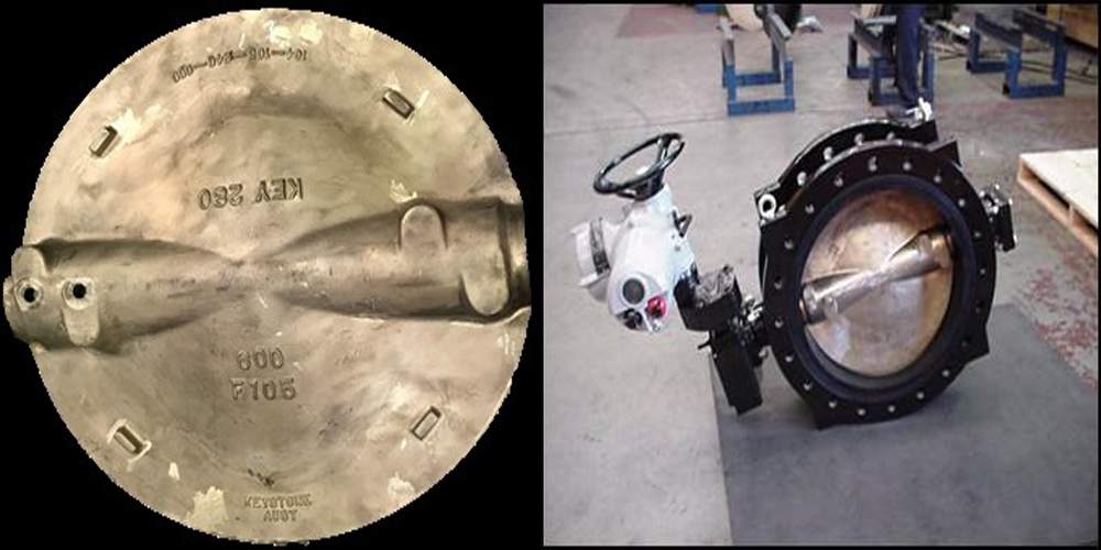 A number of butterfly valve discs were stolen from a Wangara business.