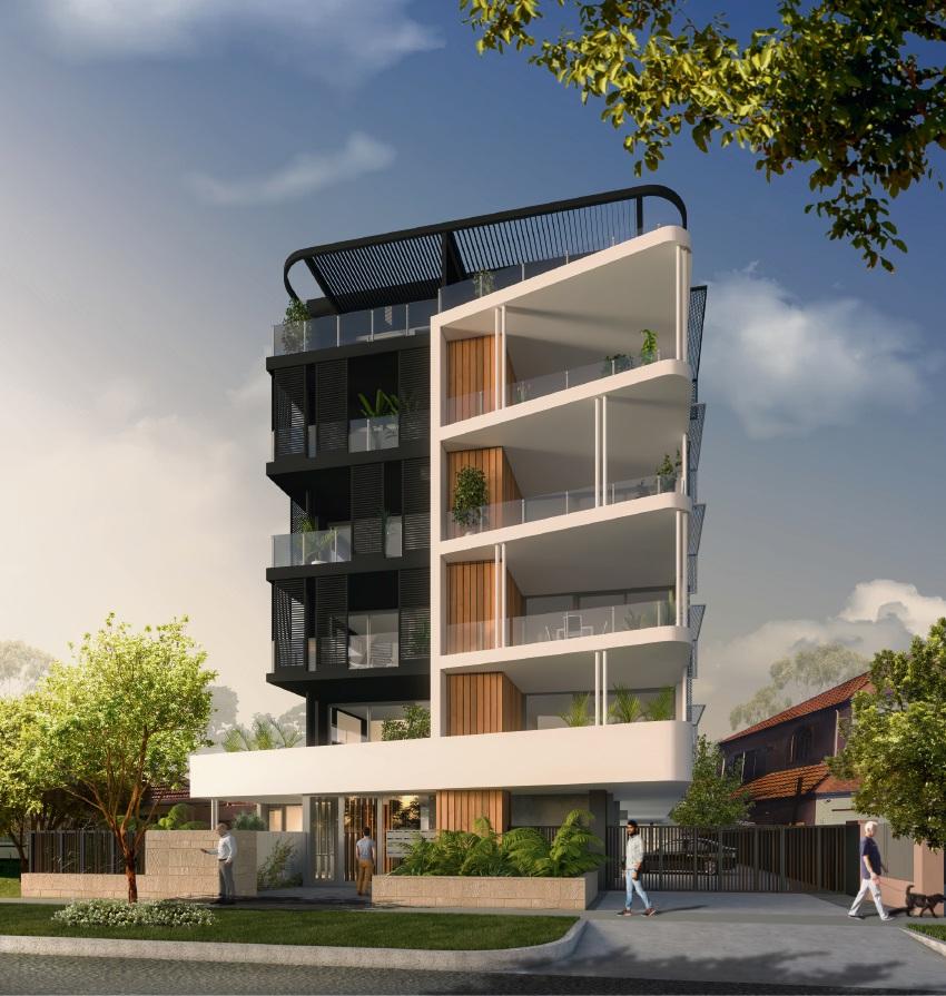 The proposed development in Como.