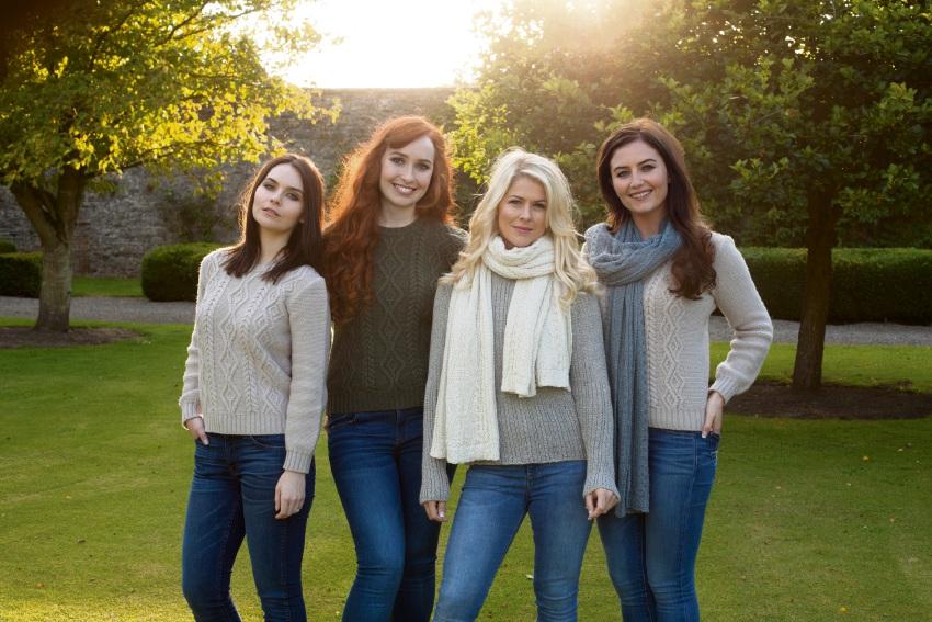 Mairead Carlin, Tara McNeil, Susan McFadden and Eabha McMahon.