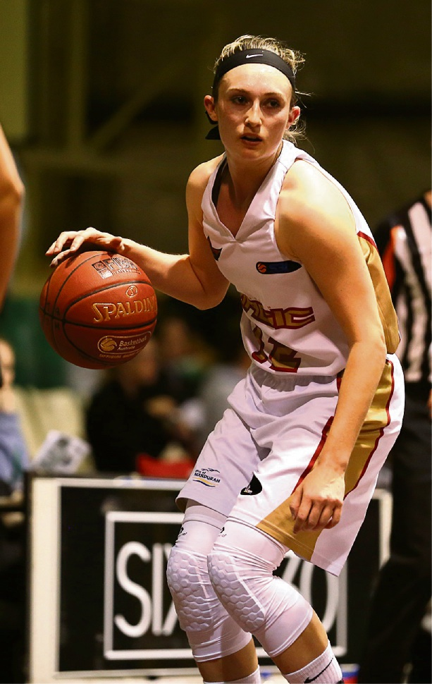 Nici Gilday was outstanding for the Magic with 28 points and five rebounds.