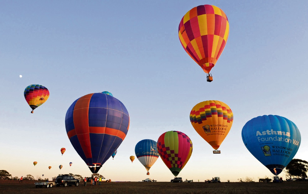 The skies above the Avon Valley will be alight with hot air balloons soon.