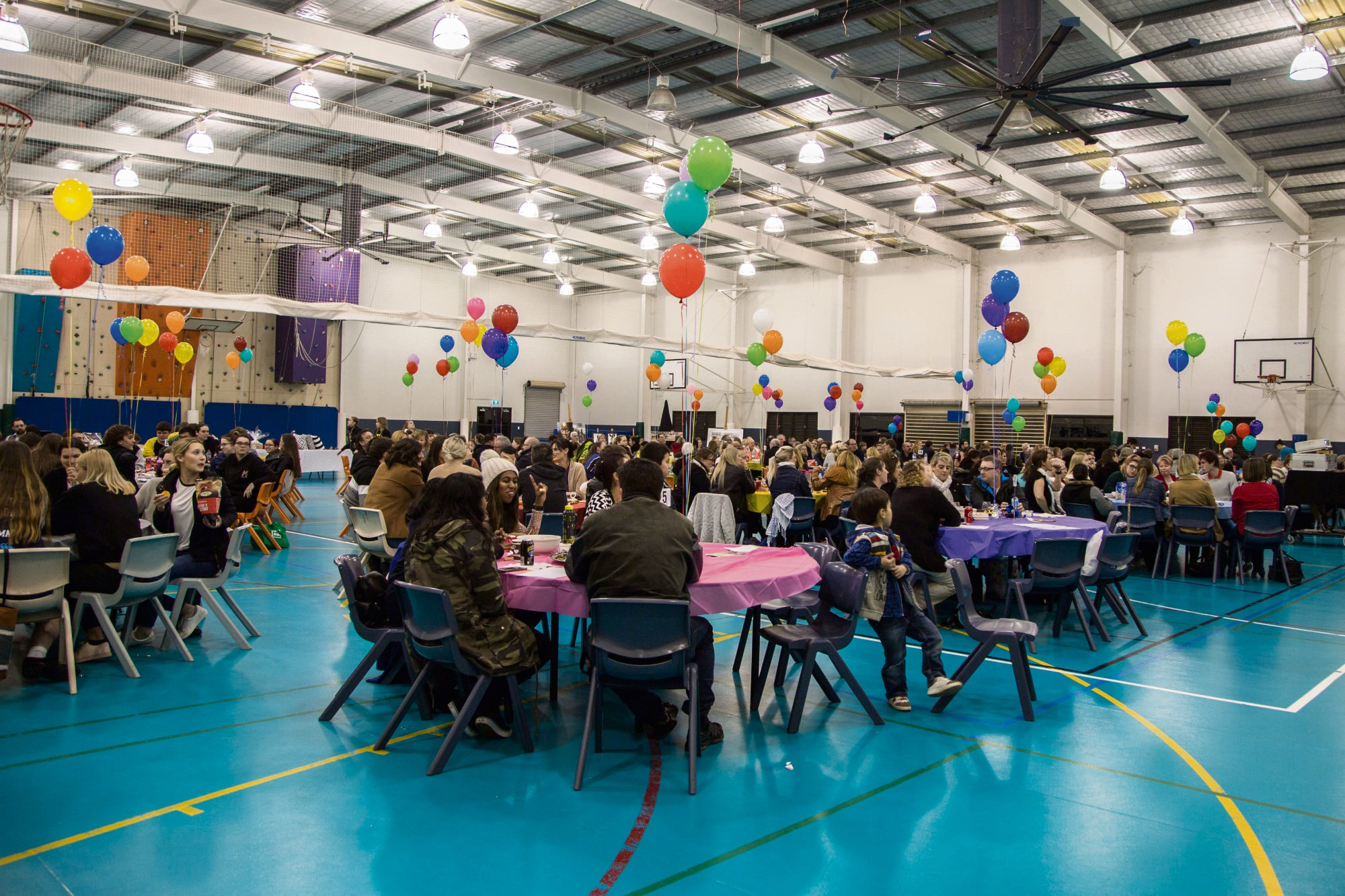 More than 300 people attended the quiz night.