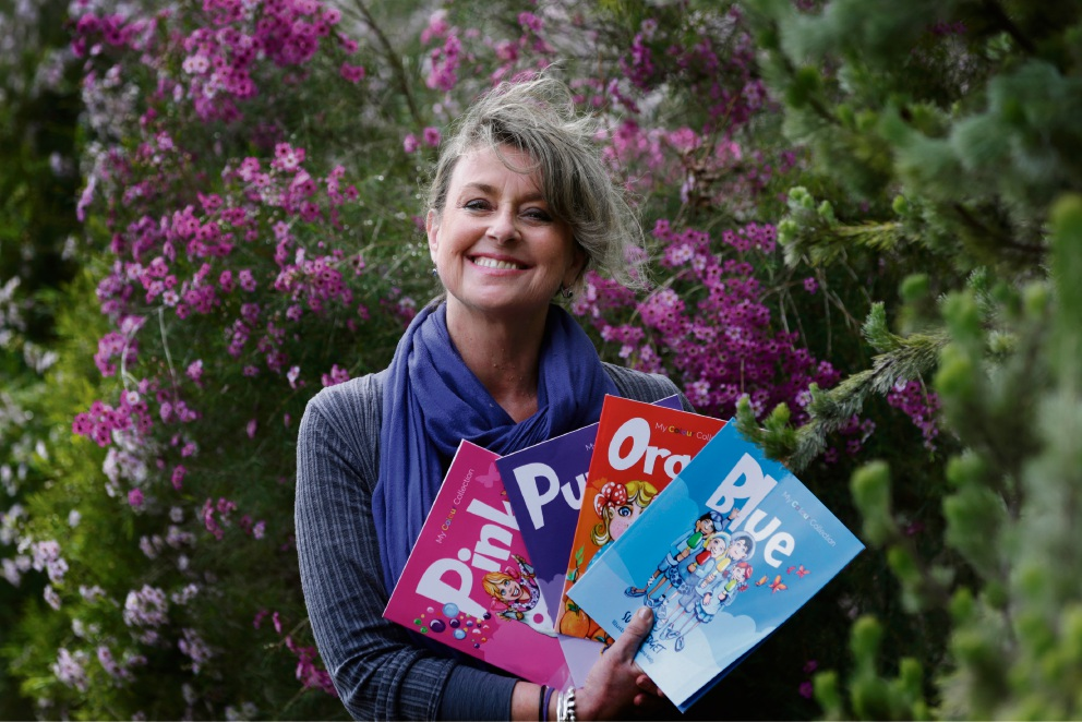 WEMBLEY Downs resident and children's book author Sue Tredget  is an ambassador for beyondblue.