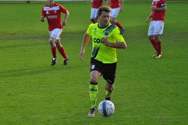 Bayswater City midfielder Paul McCarthy.