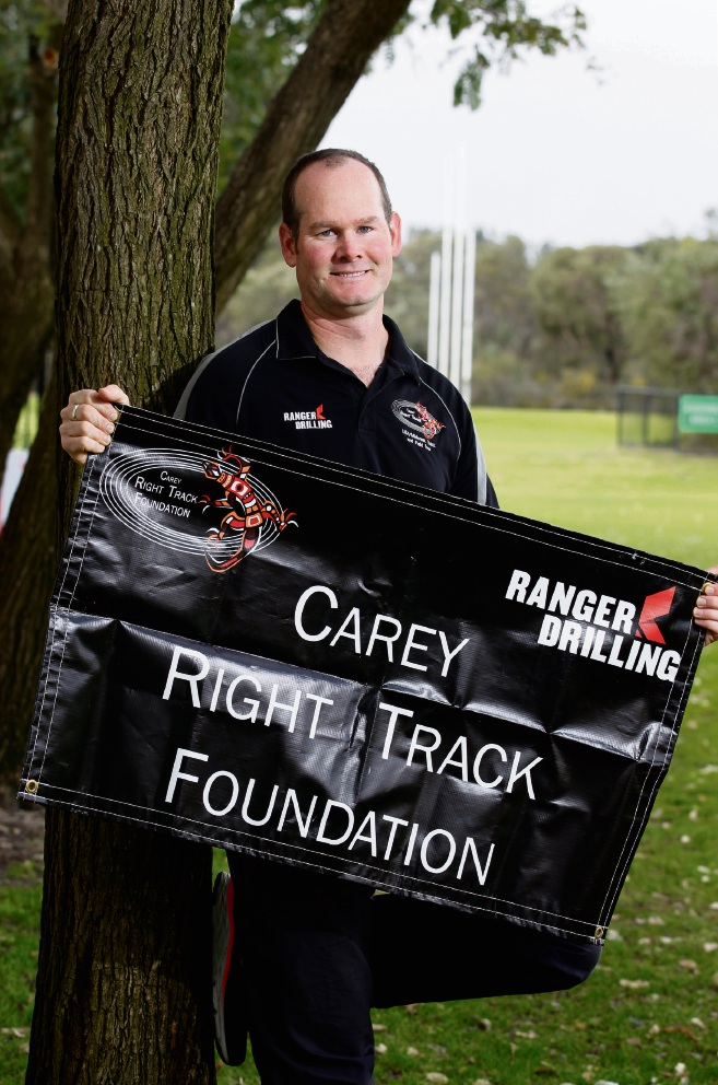 Right Track Foundation founder Graeme Watson. Picture: Marie Nirme d472757