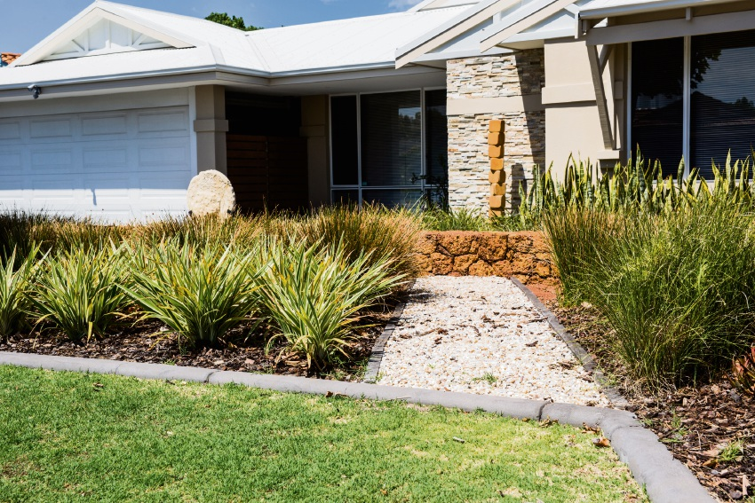There are six steps to laying a water efficient lawn.