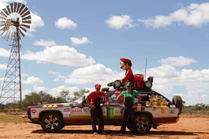 Andrew and Nicolas Del Carlo on a pervious Variety Bash.