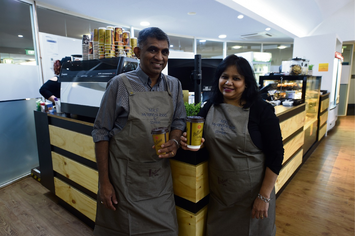 Fresh food on the menu at new Peel Health Campus cafe