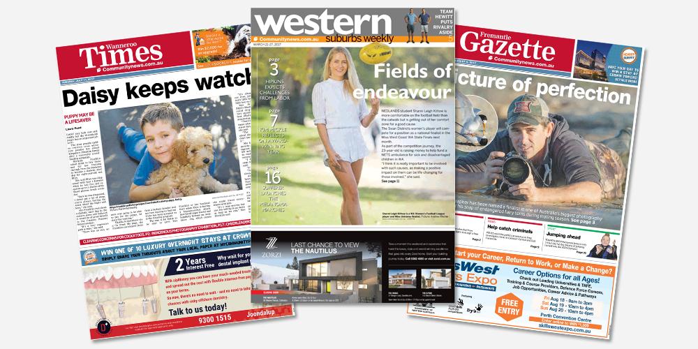 Find your local newspaper in Perth