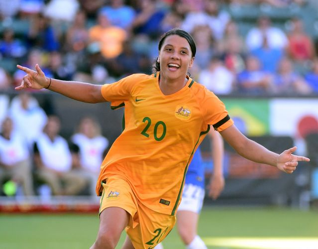 Sam Kerr. Picture: Getty Images