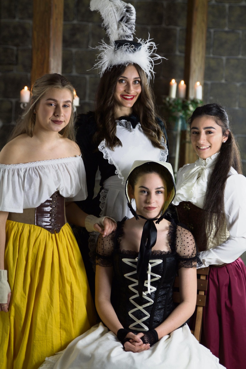 Paris Lindsay, Nikita De Souza, Emily Palermo and Amy McCann are getting set to take to the stage for Disney's Beauty and the Beast.