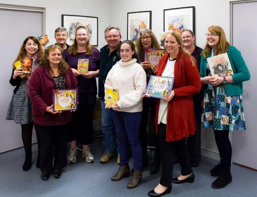 The Inklings writers with author Norman Jorgensen.
