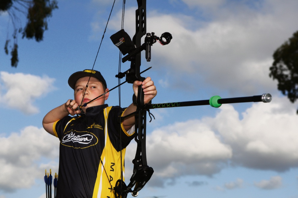 Archer Jai Francis wants to represent Australia at the Olympics.