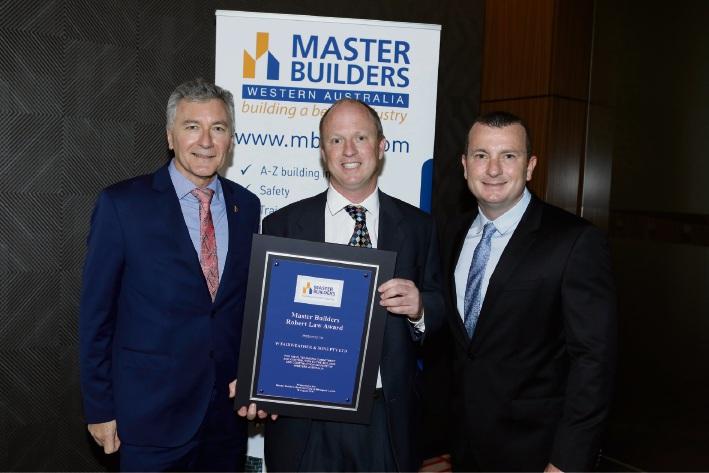 W. Fairweather & Son receives 2017 Robert Law Award