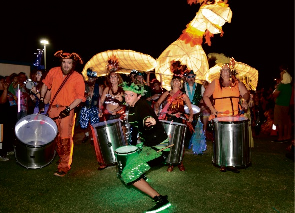 Last year's Multicultural Festival has been re-branded as Fusion Festival.