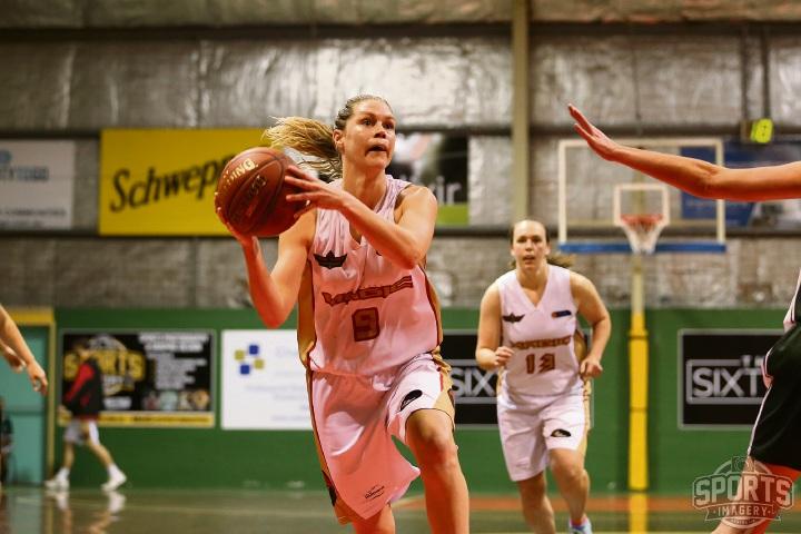 Rachel Halleen in action. Picture: Sports Imagery Australia