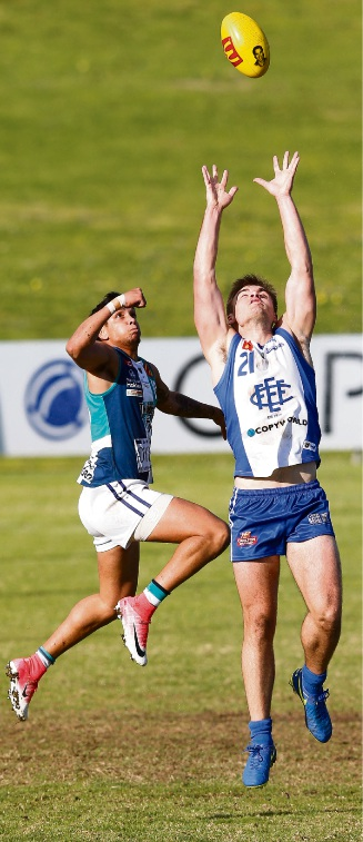 Peel Thunder came from behind to spoil East Fremantle's day. Picture: Showcase Photographix