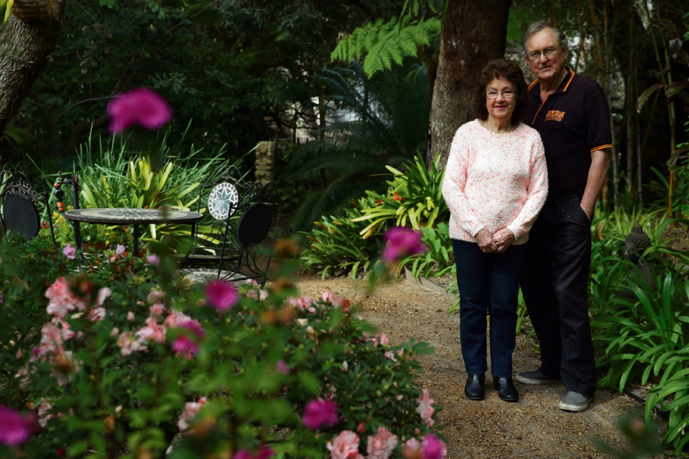 Carol and Kevin Diss of Marginiup joined Perth Garden Club 15 years ago. Picture: Martin Kennealey d472531
