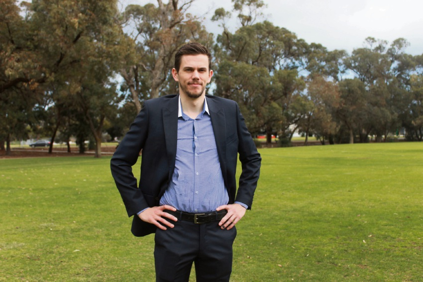 Brogan Murphy will run for Joondalup mayor.