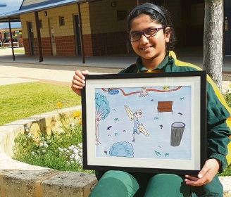 Shreya Huthesha, of Wattle Grove.