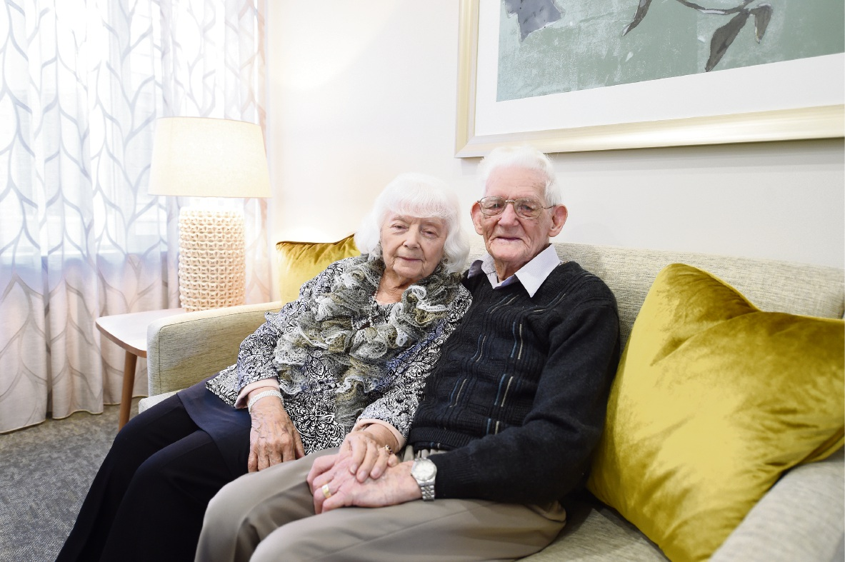 Joan and Fred Whittaker recently celebrated their 75th wedding anniversary.