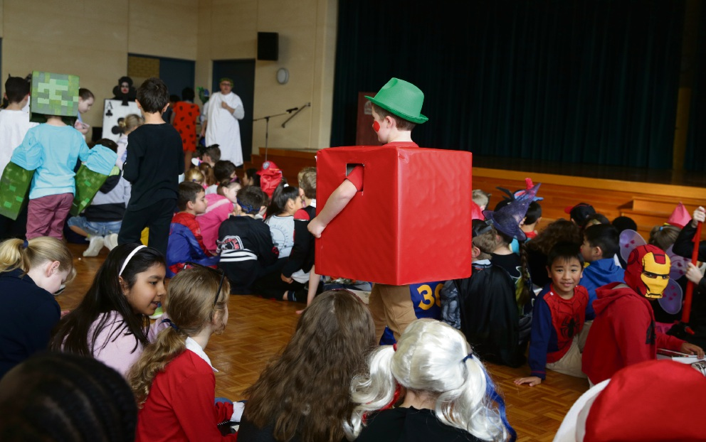 St Andrews's Catholic Primary Book Week. Picture: Martin Kennealey