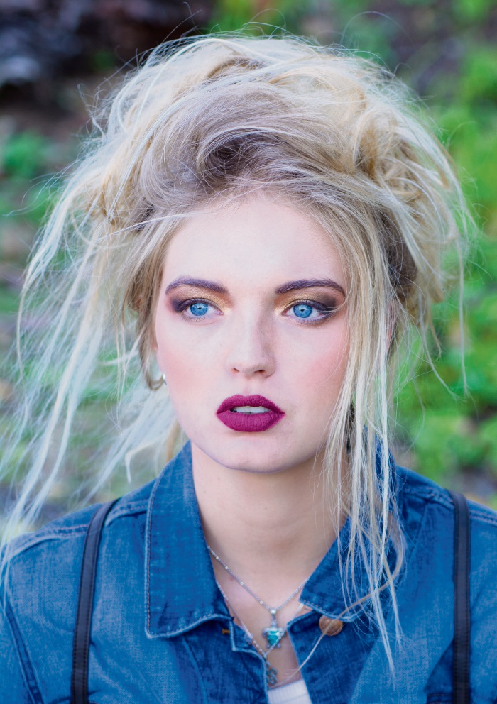 Model Mikaela Armstrong. Picture: Wendy at Design Vintage