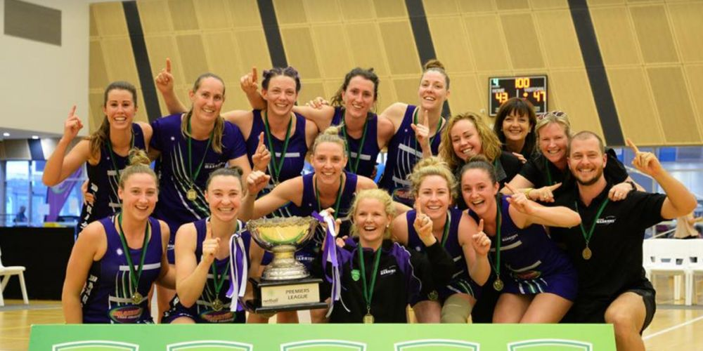 WA Netball League champions West Coast Warriors.