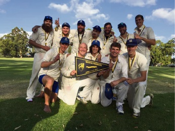 Kalamunda Cricket Club 2016-17 6th grade champions.