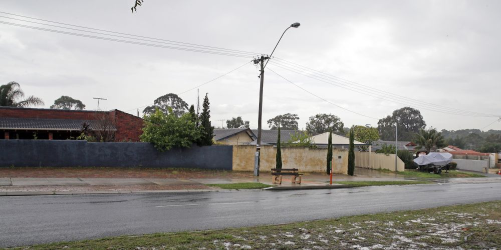The site at 449, 451 and 453 Beach Road. Picture: Martin Kennealey d473294