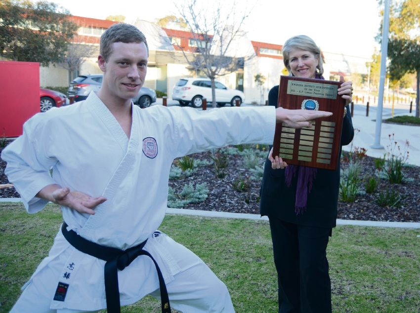 Karate: Chief instructor Shane Haebeck is Kwinana's Sports Person of the Year