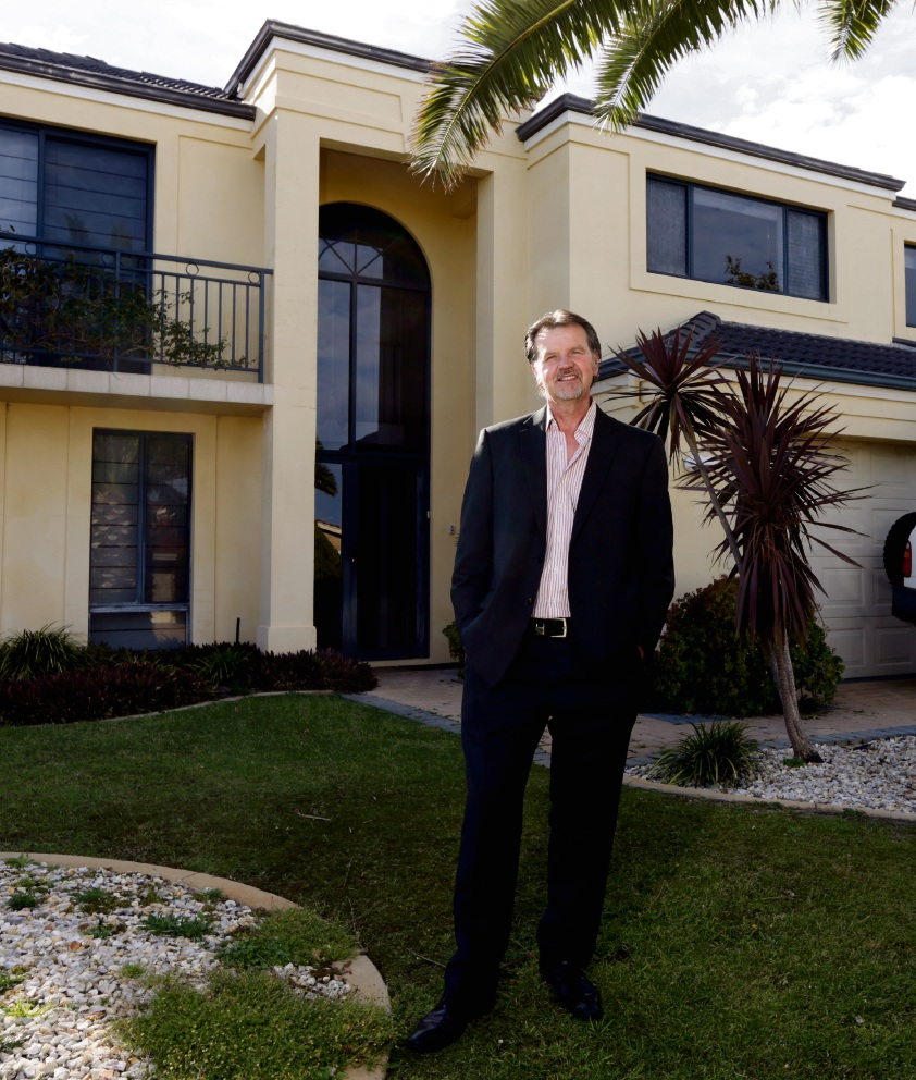 Ronald de Ruijter (owner of The Break Coastal Holiday Accommodation).