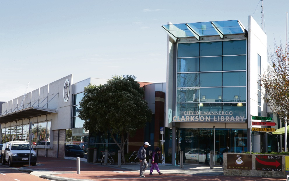 Clarkson library is part of a review into City of Wanneroo libraries.
