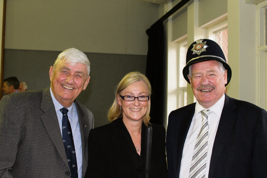Council of the Ageing director Bob Kucera, Bicton MLA Lisa O'Malley and Minister for Seniors and Ageing Mick Murray. Picture: Jon Hewson