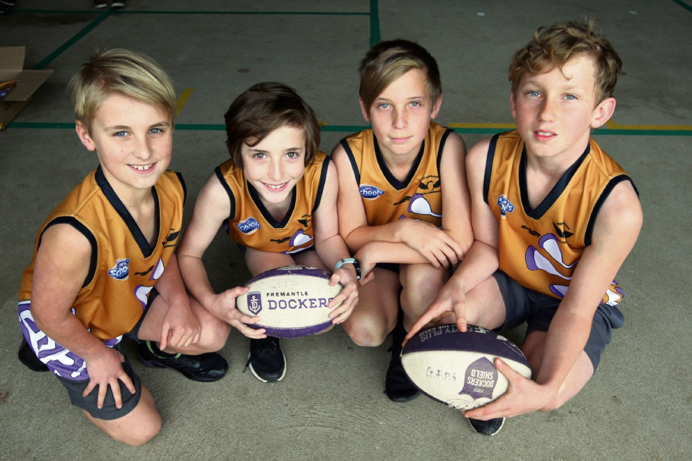 Glen Forrest Primary scores new footy jumpers