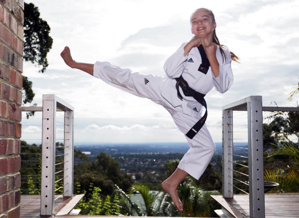 Shante Regnault in action. Picture: Bruce Hunt www.communitypix.com.au   d473087