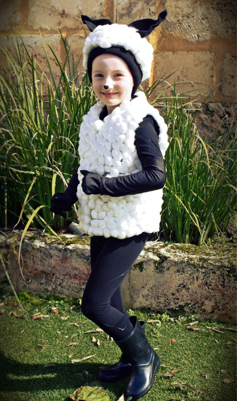 Eloise O'Shea (6) will be in the Running of the Lambs.