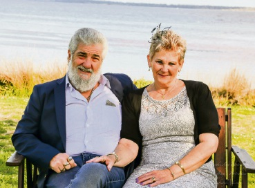 Blissful 50 years of marriag: Falcon couple Bill and Sue Buchanan
