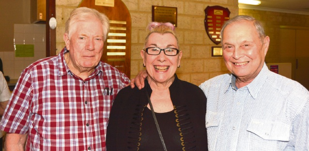 John Tarbuck, Sue Eccles-Smith and Ron Gent
