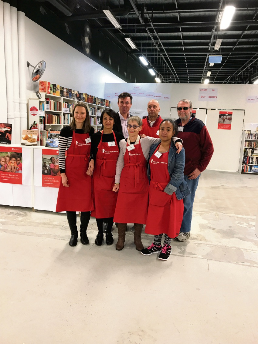 Save the Children volunteers host morning tea at The Square in Mirrabooka