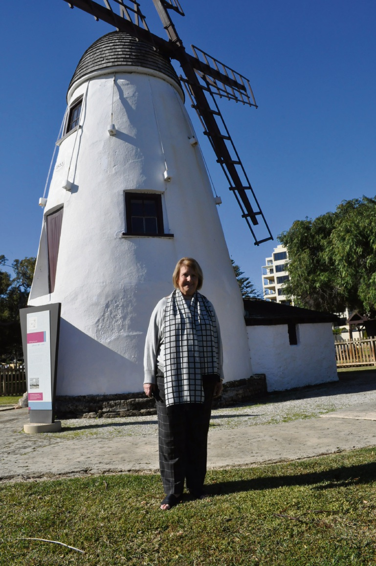 Marjorie Barker has been volunteering at the Old Mill for nearly four decades.